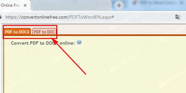 Chuyen PDF sang Word Convert Online Free