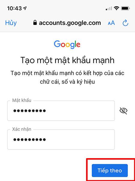 Dang ky gmail khong can so dien thoai 19