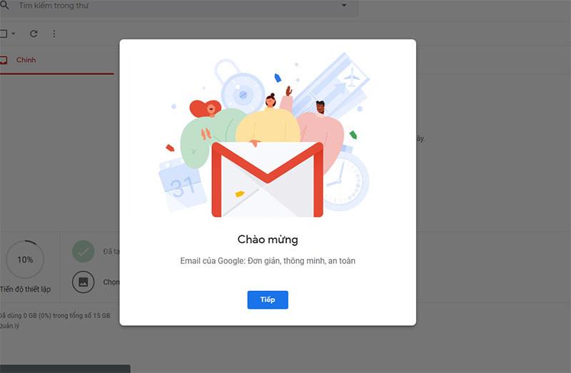 Dang ky gmail khong can so dien thoai 5