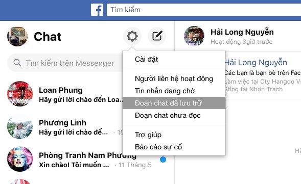 Doan Chat Da Luu Tru Facebook