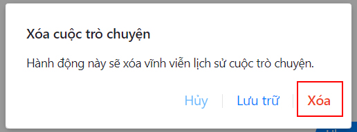 Xoa Lich Su Tro Chuyen Facebook