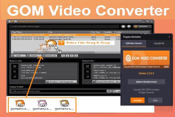 Download GOM Video Converter