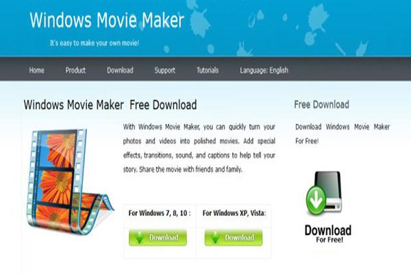 Download Windows Movie Maker