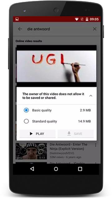 YouTube Go Screenshot 3