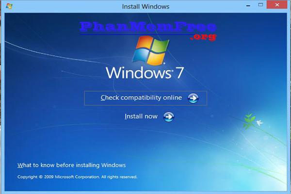 Huong Dan Cai Dat Windows 7