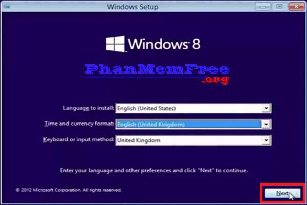 Huong Dan Cai Dat Windows 8.1