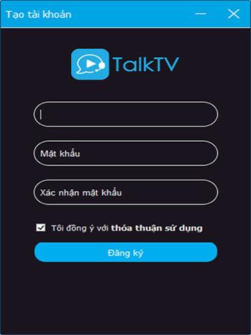 ccTalk Tao Tai Khoan