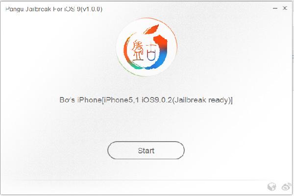 Pangu Jailbreak iOS 9 Screenshot 1