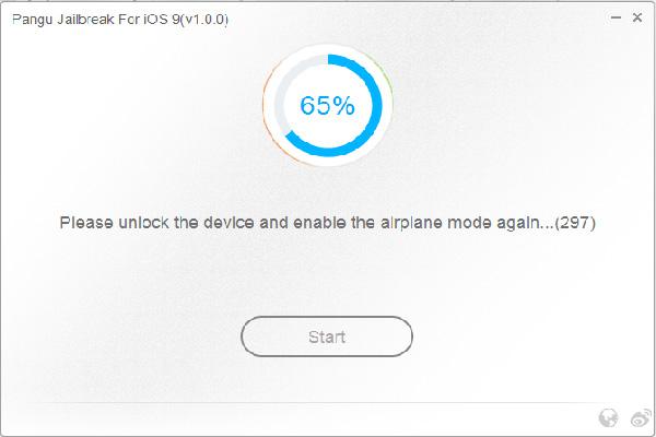 Pangu Jailbreak iOS 9 Screenshot 2