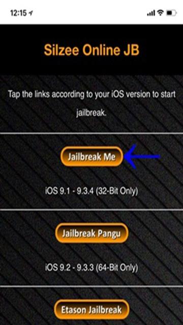 Silzee Online JB JailbreakMe